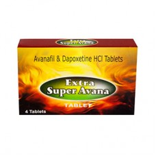 Extra Super Avana (Avanafil 200mg + Dapoxetine 60mg) - 5 doboz | 20 darab