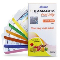 Kamagra Zselé (Sildenafil 100 mg) - 5 doboz | 35 tasak